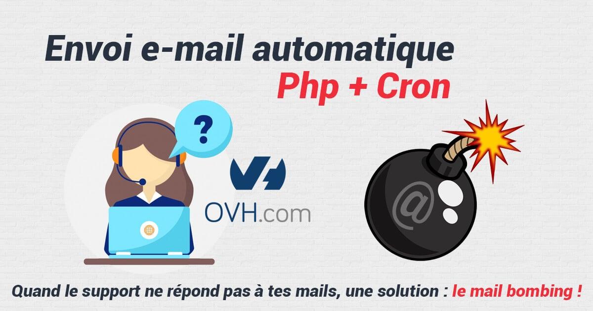Envoi E-mail automatique Php et Cron